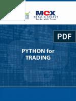 Python for trading