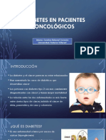 Diabetes en Pacientes Oncológicos