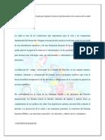 Resumen Modulo II Tema 1 Codigo Sanitario de Panamá