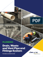 Drain, Waste and Vent Pipe Technical Guideline