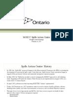 Ontario Spill Action Plan