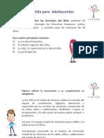 Plan de Vida Para Adolescentes Lic .Leticia Sheila Ricalde Calderón.