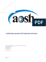 CSS Examination Information