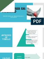 Artrosis de Tobillo Ppt
