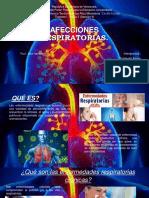 Afecciones respiratorias