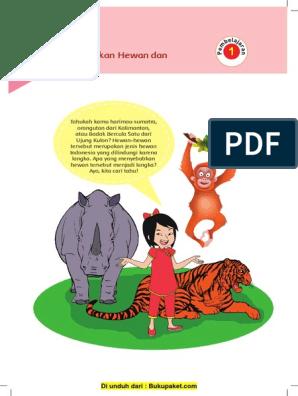 30++ Makhluk hidup poster pelestarian hewan dan tumbuhan langka di indonesia terupdate
