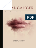 Oral Cancer From Prevention to Intervention