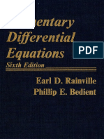 Elementary Differential Equations ( 6TH EDITION)