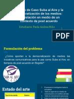 Presentación Suba Al Aire_Paola Niño