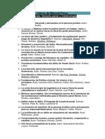 Colección. Derecho penal y Criminología