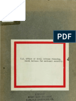 CAP Civil Defense Plan (1942)