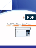 NovoCyte Flow Cytometer Operator's Guide