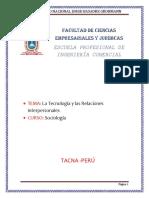 Las Tecnologias y Las Relaciones Interpersonales2