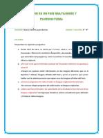 El Perú Es Un País Multilingüe y Pluricultural