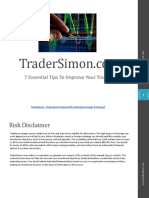 TraderSimon - 7 Essential Tips To Improve Your Trading