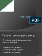 volumen de caudal