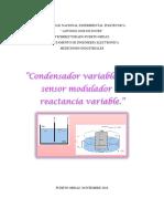 Sensores Moduladores de Reactancia