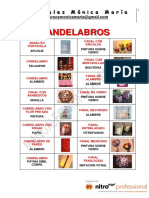 14. Candelabros