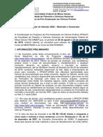 Edital Regular Ciência Política MD 19jul2019