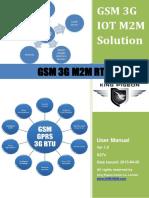 s27x Gsm 3g m2m Rtu User Manual v1.0