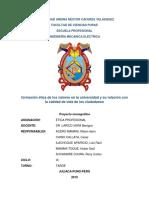 Universidad Andina Néstor Cáceres Velásquez