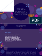 Terapia Conitivo -conductual