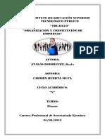 Informe de Fuentes de Financiamiento