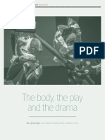 the body, the play and the drama