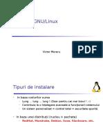 3 Instalare Linux