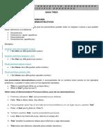 Guía 3 Inglés