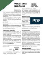 DLS MW110 User Manual