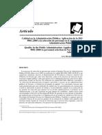 ---- (Calidad en La Administración Pública Aplicación de La ISO 9001 2000 a ...)