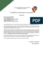I Circular Camporee AVCN 2020