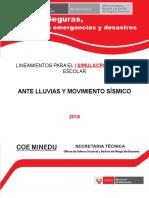 Escenario, procedimientos  y protocolo 2016.docx