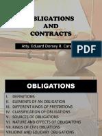 1 Obligations