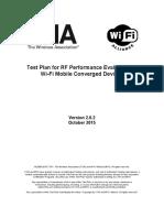 Wifi Test Plan