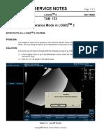 L3_SN_73050_Maintenance Mode in LOGIQTM 3