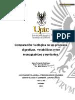 Comparación Procesos Digestivos Monoga-rumiantes