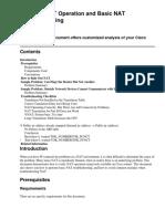 Verifying NAT Operation and Basic NAT Troubleshooting