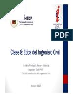 Clase 08 - Etica Del Ingeniero Civil