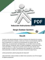 Induccion Instructores SENA