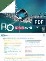 2018 Forum h2o Book Eau