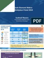 Outlook Ekonomi Makro Dan Kebijakan Fiskal 2018 Kemeterian Keuangan Ri 19