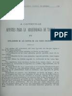 Capdeville 1922 - Apuntes Para La Arqueologia de Taltal IV Civilizacion de Las Gentes de Los Vasos Figurados BANH Vol IV n 9