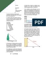 Taller Evaluativo Teorema de Pitagoras