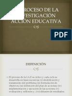 EL PROCESO DE LA INVESTIGACIÓN ACCIÓN EDUCATIVA.pptx