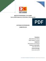 Propuesta Formato Reporte - Administrador de Servidores