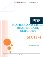 MBBS_Notes_Fourth Year_Community Medicine_MOTHER and CHILD HEALTH CARE 1 Fr 8_FirstRanker.com