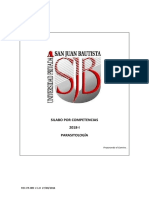 Silabo Parasitologia 2018-i