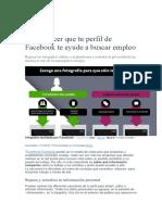 5 Cómo Hacer Que Tu Perfil de Facebook Te Ayude a Buscar Empleo